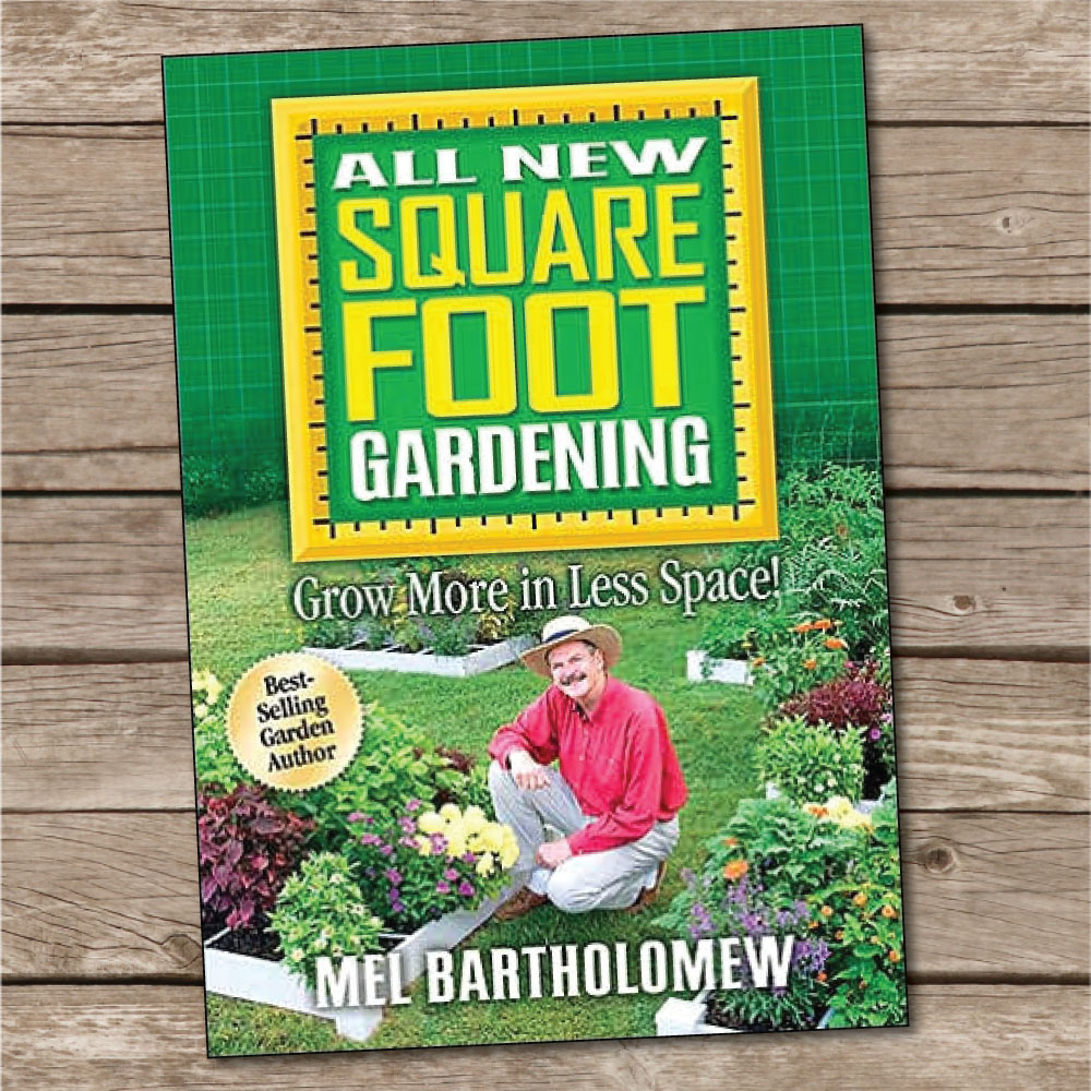 Square foot gardening book -