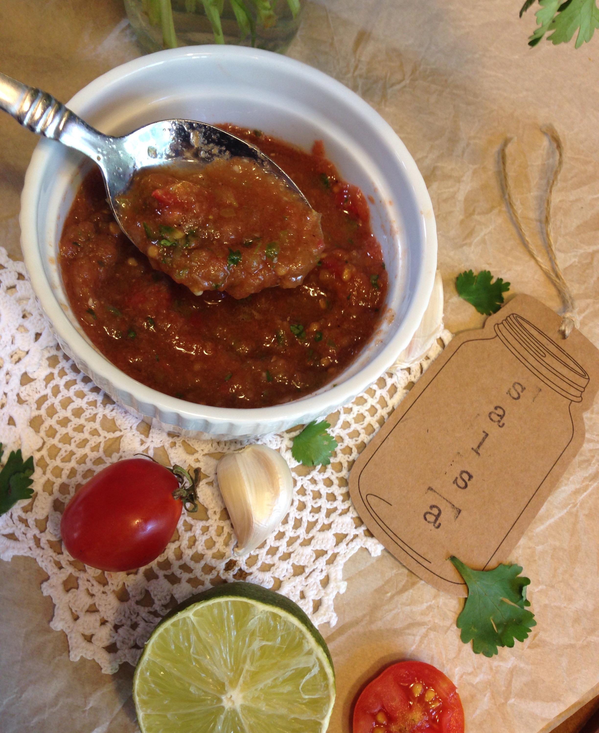 Fresh Garden Tomato Salsa | Carolina Grown & Grub